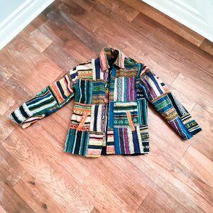 Vintage Patchwork Colourful Jacket